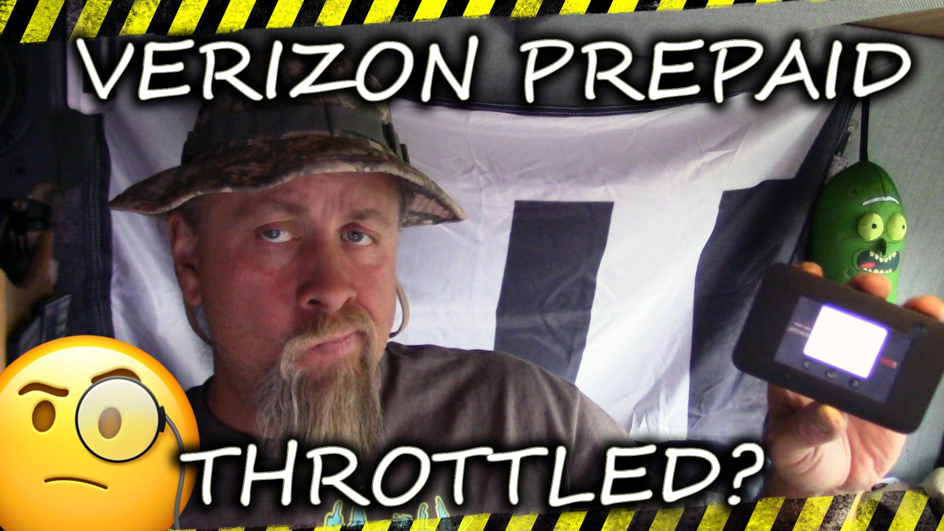 Verizon's prepaid unlimited hotspot plan